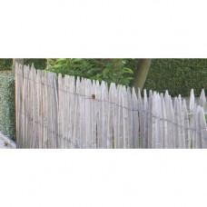 Kastanje afsluiting op rol (1,2x5m / spijl 5 cm)