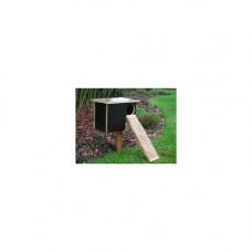 Broedhuis voor eenden (betonplex)
