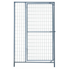Kennelpaneel draad met deur 1m