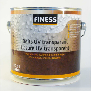 Transparant Donker eiken 750 ml