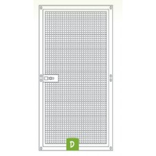 Voliere paneel met grote deur 200 x 100cm