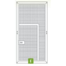 Voliere paneel met kleine deur 200 x 100cm