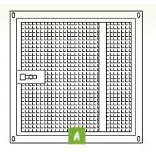 Voliere paneel deur 100 x 100 cm